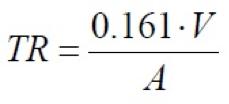 Fórmula de Sabine