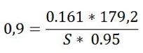 cálculo Sabine techo Fibralith