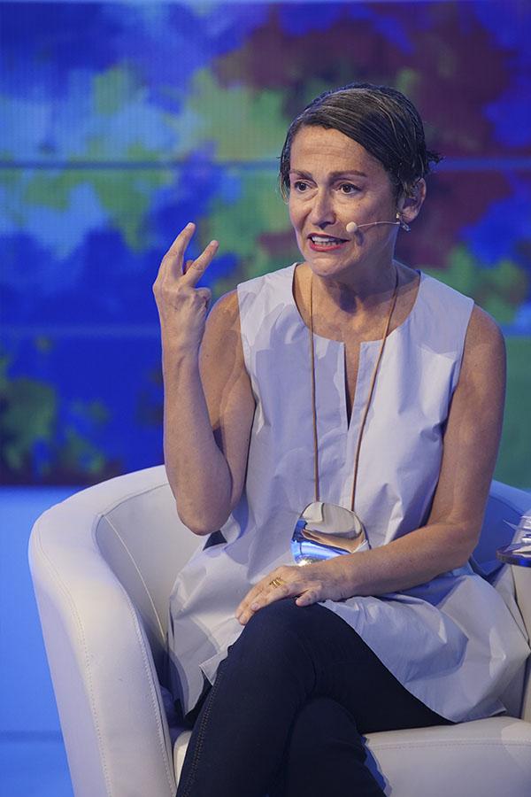 Periodista e historiadora del arte, Anatxu Zabalbeascoa